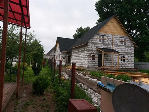 Незаконная постройка домов в Домодедово
