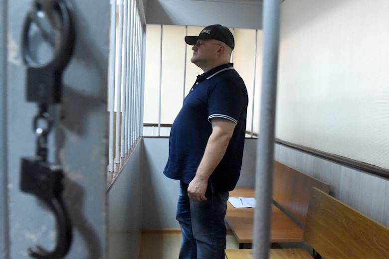Дрыманов в суде