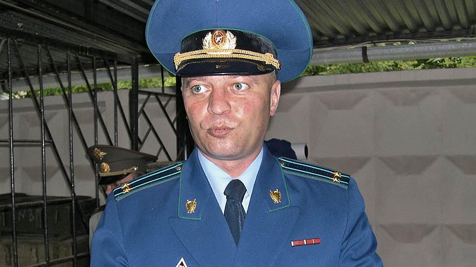 Старший следователь по особо важным делам при председателе СКР Константин Криворотов