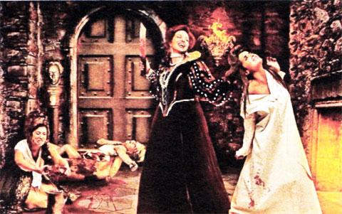 По легенде, в подвалах замка были оборудованы камеры пыток, где графиня истязала своих жертв