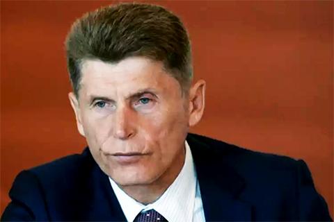Олег Кожемяко - губернатор сахалинской области