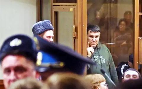 Андрей Хлоев на суде