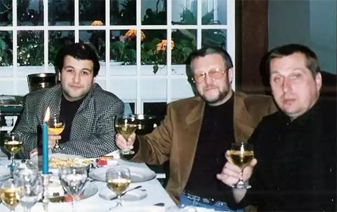Слева: Эдуард Иваньков, Вячеслав Иваньков (Япончик) и Александр Тимошенко (Тимоха), США