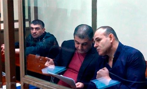 Сергей Зиринов и его сообщники в суде