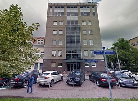 Офисное здание на Бабаевской, 6 (вид со 2-й Боевской улицы)