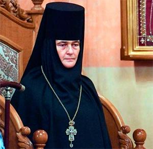 Настоятельница Покровского ставропигиального женского монастыря Москвы игумения Феофания.