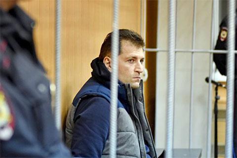 Магомед Магомедов в суде