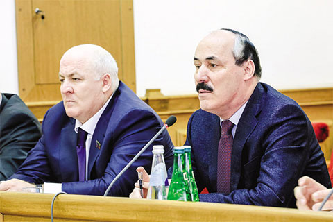 Магомед Сулейманов и Рамазан Абдулатипов