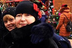 Наталья Цеповяз и дочь Оксана