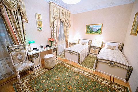 Апартамент президентский 3-х местный в гостинице «Покровская»