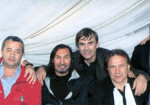 Слева: Гаврил Юшваев, Петрик, Шишкан