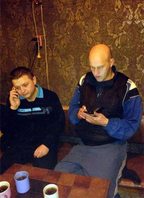 Слева: Вячеслав Цеповяз