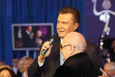 Ян Табачник и Янукович