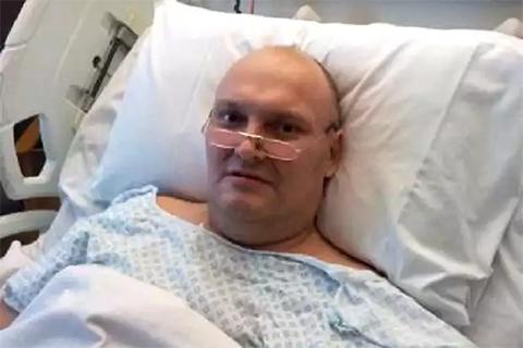 Герман Горбунцов в больнице