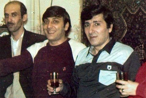Рудольф (справа) и Владимир (в центре) Огановы