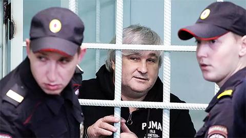 Владимир Вагин на оглашении приговора в Нижегородском суде, 20.10.2015