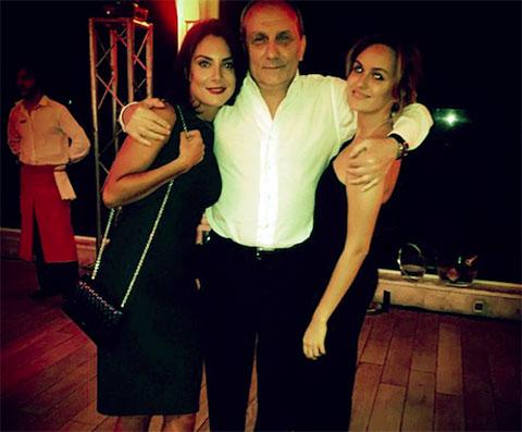 Александр Ангерт с дочерью