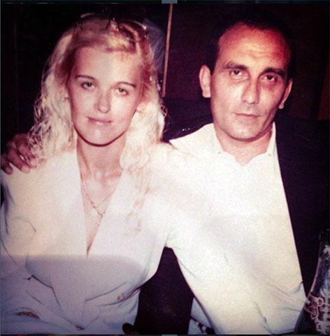 Александр Ангерт со своей женой Катериной