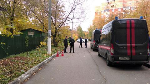 Фото с места убийства Евгении Шишкиной