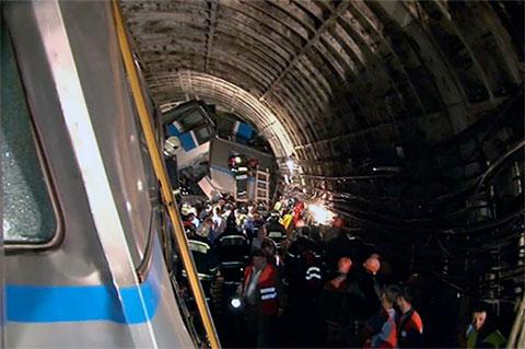 Авария в метро в 2014 году