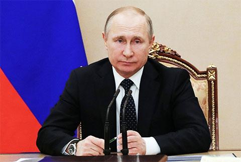 Владимир Путин - 2018 год