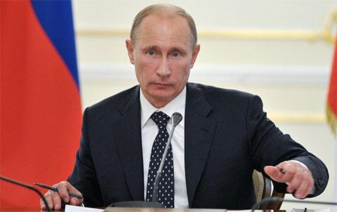 Владимир Путин - 2012 год