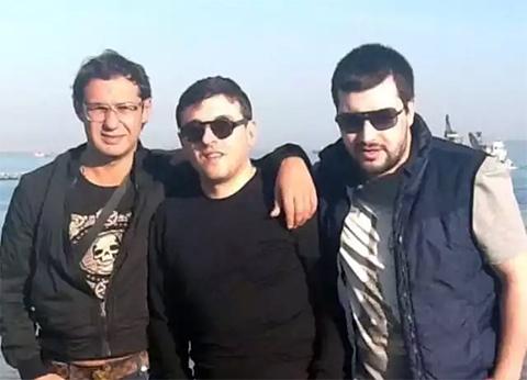 Ражден Шулая (Ражден Питерский), Лаша Догонадзе (Барджга Питерский) и Давид Джангидзе (Дато Краснодарский)